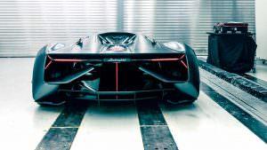 Новый дизайн Lamborghini Terzo Millennio Concept