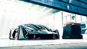 Суперкар будущего Lamborghini Terzo Millennio Concept