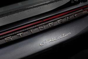 Накладки на дверные пороги Porsche Panamera Stingray GTR