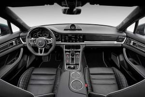 Кожаный салон Porsche Panamera Stingray GTR от TopCar