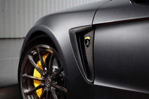 Воздухозаборники на крыле Porsche Panamera Stingray GTR