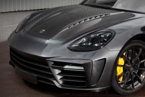 Углеродный капот Porsche Panamera Stingray GTR от TopCar