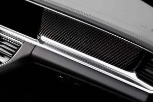 Углерод в салоне Porsche Panamera Stingray GTR от TopCar