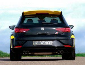 SEAT Leon Cupra. Тюнинг от JE Design