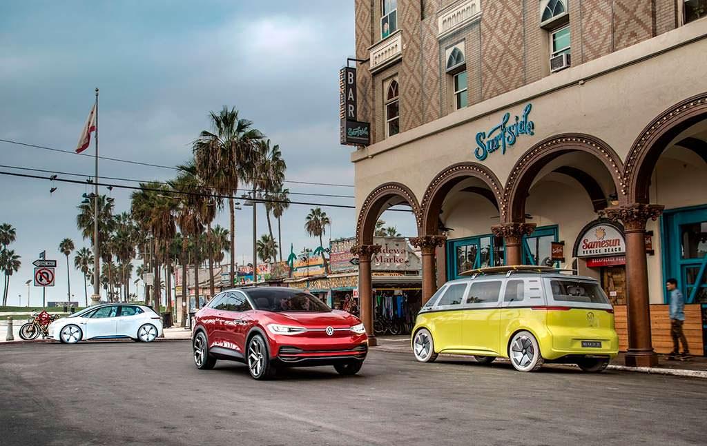 Электрокары Volkswagen