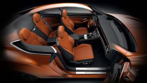 Салон Bentley Continental GT First Edition