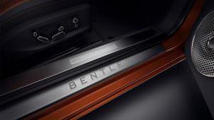 Дверные пороги Bentley Continental GT First Edition 2018