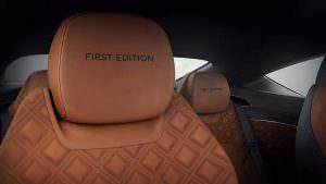 Подголовники сидений Bentley Continental GT First Edition
