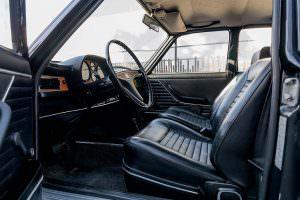 Интерьер Audi 100 LS 1974 года выпуска