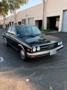 Коллекционная Audi 100 LS 1974 года выпуска