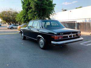 Седан Audi 100 LS 1974 года выпуска