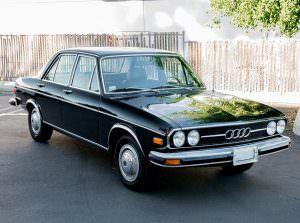 Уникальная Audi 100 LS 1974 года выпуска