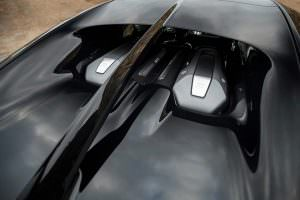 Крышка моторного отсека Bugatti Chiron
