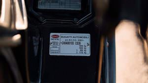 Номер шасси Bugatti EB110 GT 1993 года выпуска