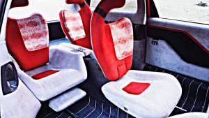 Складные сиденья Lamborghini Genesis