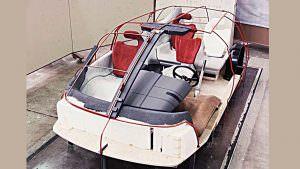 Каркас минивэна Lamborghini Genesis от Bertone. 1988 год