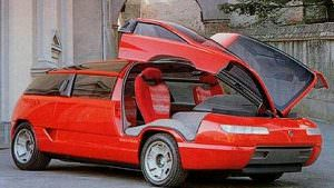 Супер-микроавтобус Lamborghini Genesis от Bertone. 1988 год