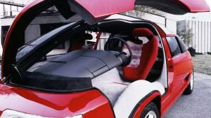 Двери типа крылья-чайки минивэна Lamborghini Genesis