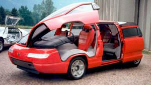 Супер минивэн Lamborghini Genesis от Bertone. 1988 год