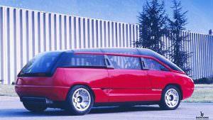 Микроавтобус Lamborghini Genesis. Концепт 1988 года