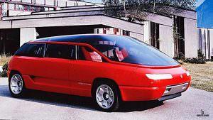 Супер-минивэн Lamborghini Genesis от Bertone. 1988 год