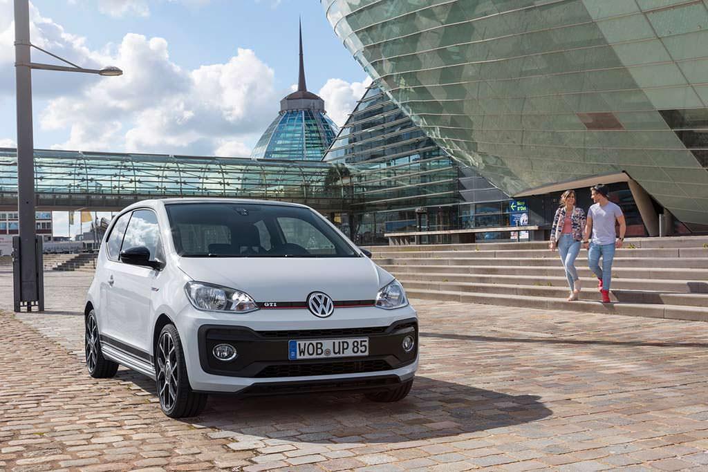 Компактный и быстрый хэтчбек Volkswagen Up! GTI