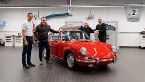 Оригинальный Porsche 901