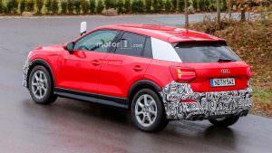Дорожные испытания Audi SQ2