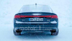 Мул Audi RS7 Sportback второго поколения в шкуре A7