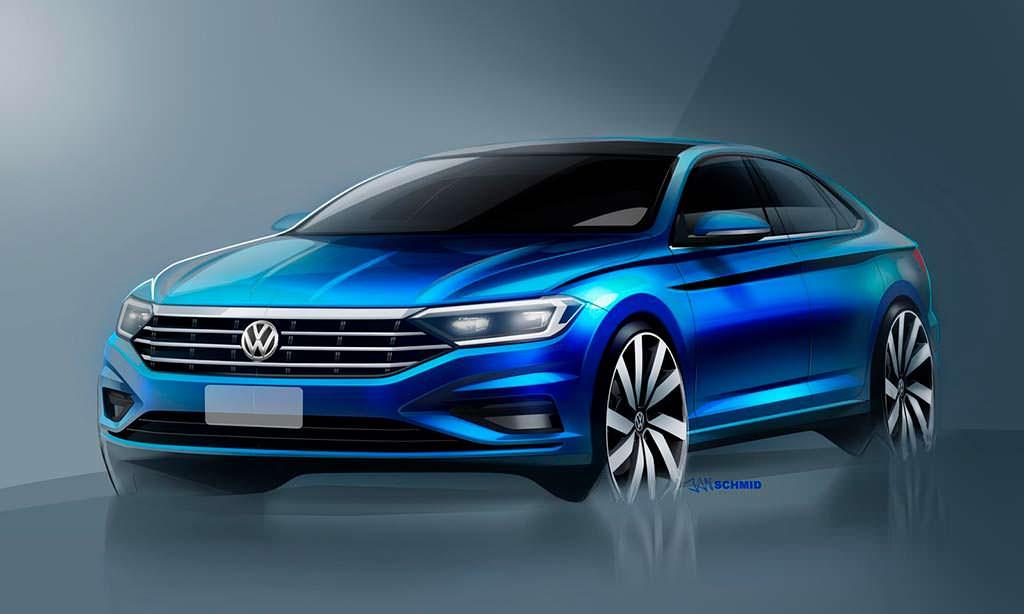 Официальные изображения Volkswagen Jetta нового поколения