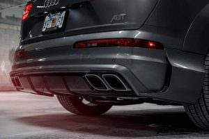 Задний диффузор Audi Q7 от ABT Sportsline и Vossen Wheels
