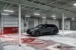 Тюнинг Audi Q7 от ABT Sportsline и Vossen Wheels