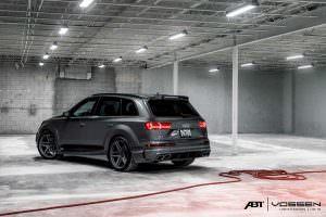 Кроссовер Audi Q7 в обвесе от ABT Sportsline и Vossen Wheels