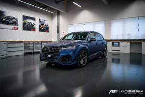 Тюнинг Audi SQ7 от ABT Sportsline и Vossen Wheels