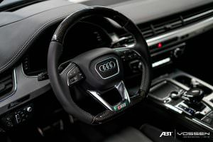 Фото салона Audi SQ7 от ABT и Vossen