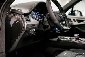 Фото салона Audi SQ7 от ABT Sportsline и Vossen Wheels