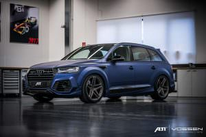 Audi SQ7 на 22-дюймовых колёсах Vossen Forged AVX