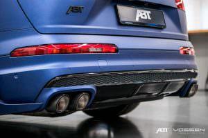 Карбоновый диффузор Audi SQ7 от ABT Sportsline