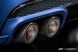 Карбоновые наконечники труб Audi SQ7 от ABT Sportsline