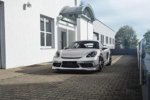 Тюнингованный Porsche 718 Cayman от TechArt