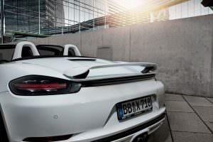 Спойлер Porsche 718 Boxster от TechArt