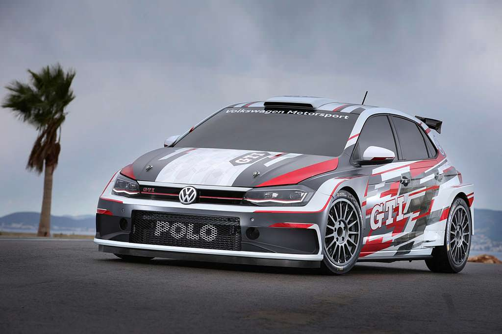 Ралли-кар Volkswagen Polo GTI R5 2018