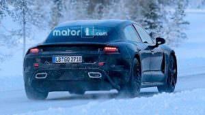 Зимние испытания Porsche Mission E