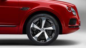 22-дюймовые пятиспицевые колёса 2018 Bentley Bentayga V8