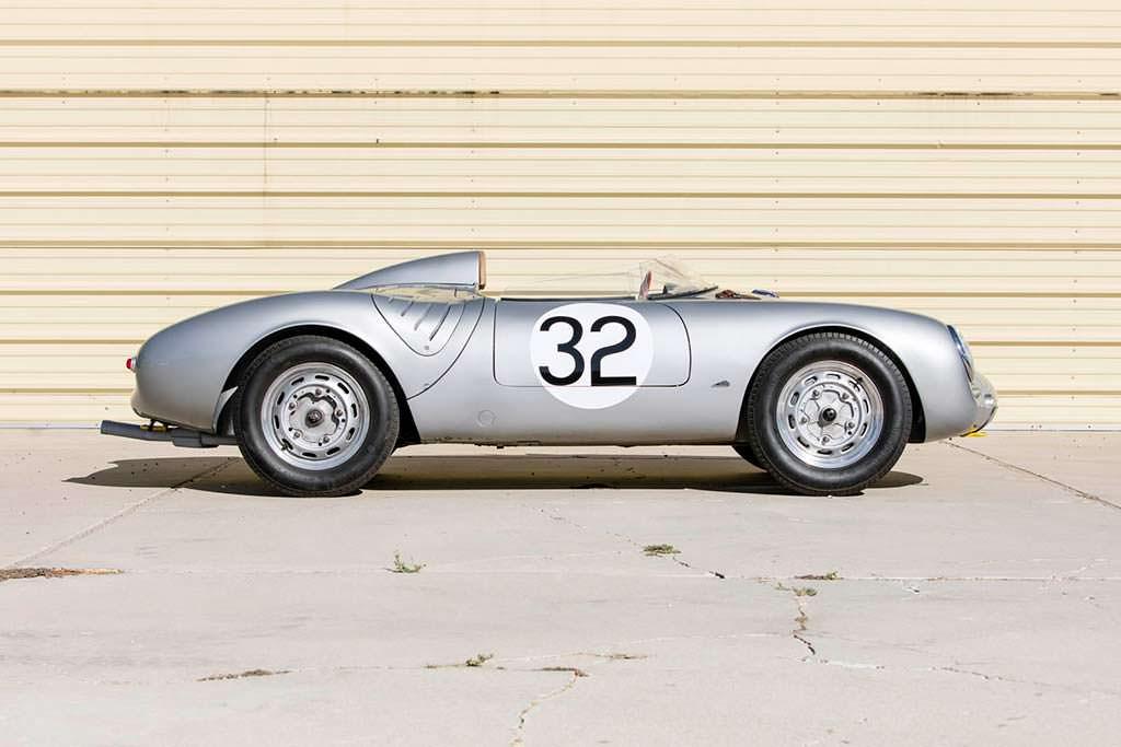Коллекционная Porsche 550A Spyder 1958 года выпуска