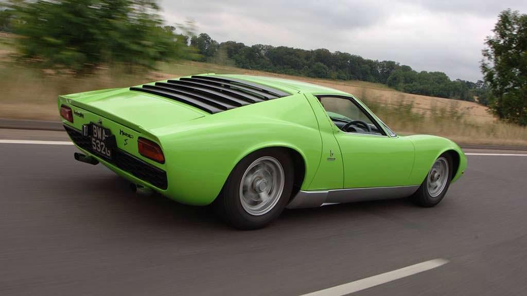 Lamborghini Miura 1966 - 1973 годы