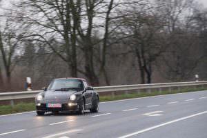 Редкая Porsche 991 Turbo Cabriolet 1995 года