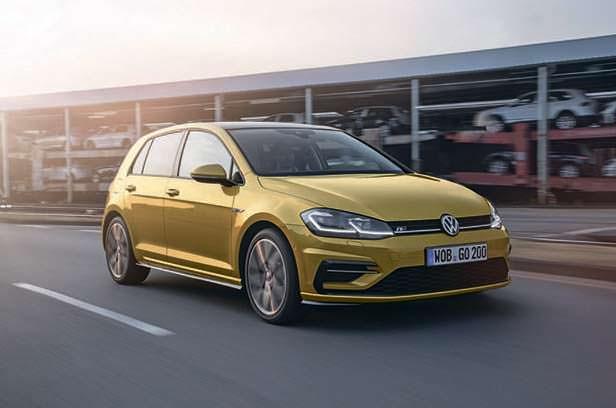 Производство Volkswagen Golf за 2017 год: около 1 млн машин
