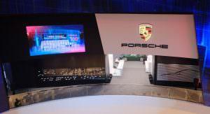 Шоу-рум Porsche в городе Гуанчжоу, Китай