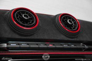 Вентиляционные дефлекторы Audi RS3 Sedan от Neidfaktor